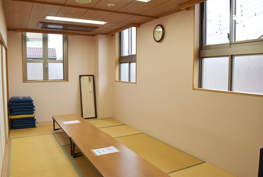 忠岡町 総合福祉センター : 和室「さつき」