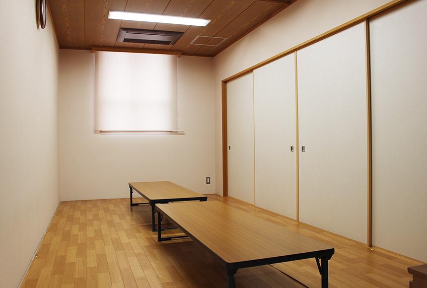 忠岡町 総合福祉センター : 和室「くす」
